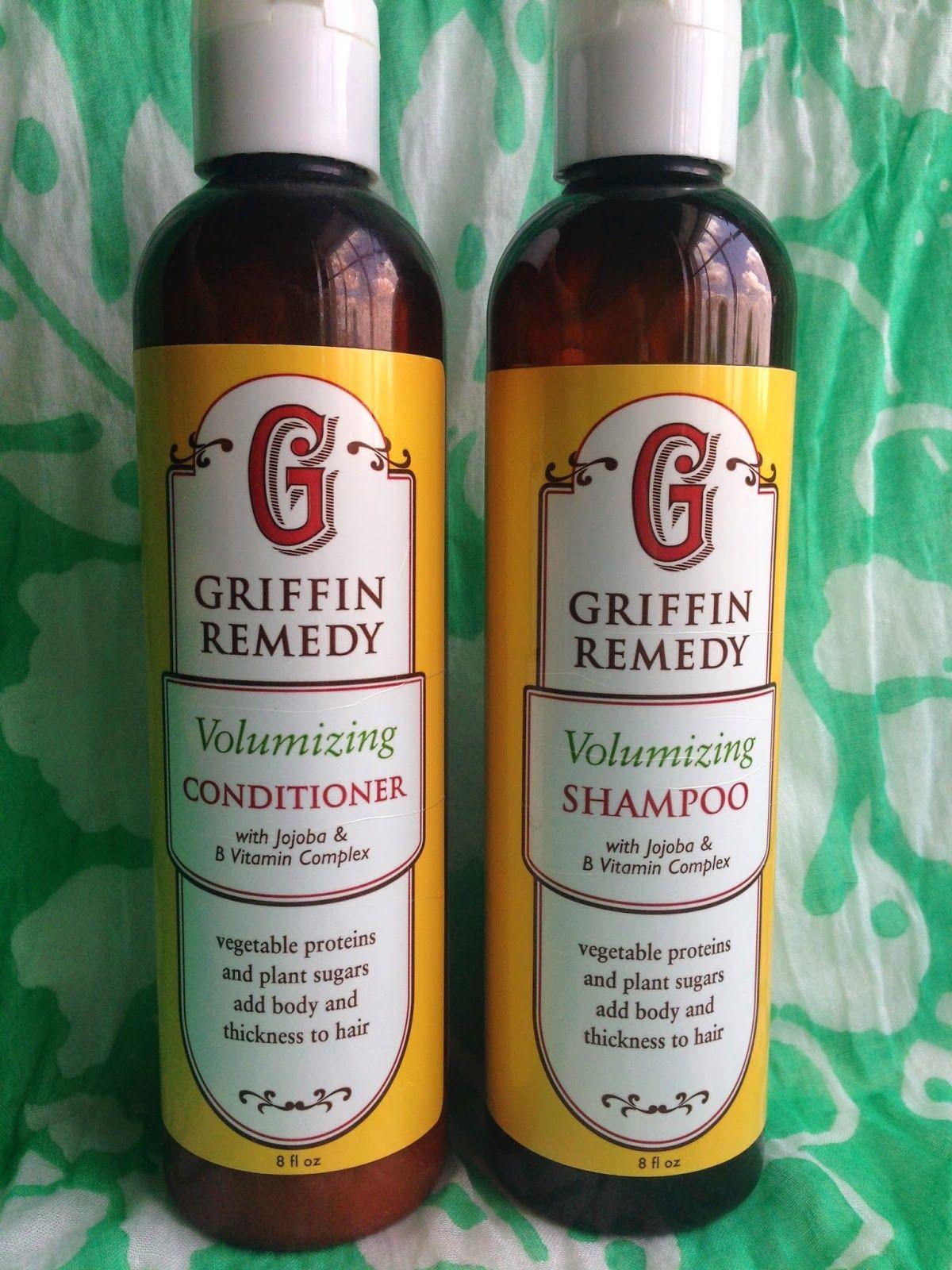 Green beauty griffin remedy volumizing shampoo