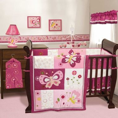Pin By April Hall On Nursery Butterfly Crib Bedding Baby