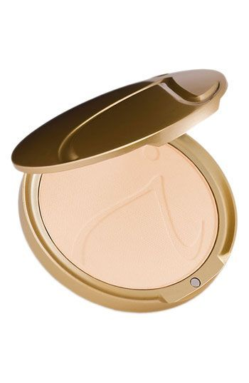"Jane Iredale ""Gold Glow"" Pressed Powder Refill-Hello beautiful skin.  Best thing about this product is that it is FULL coverage and still leaves your skin looking like skin"