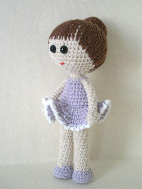 Ballerina doll amigurumi pattern   crochet diy   Pinterest ...