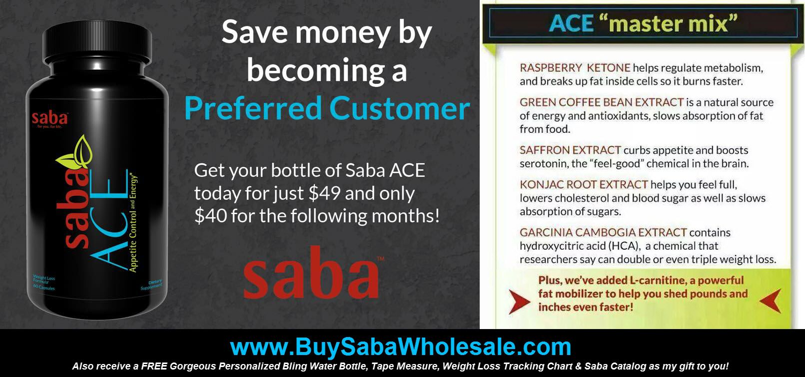 Pin on Saba ACE (Diet Pills) Appetite Control & Energy