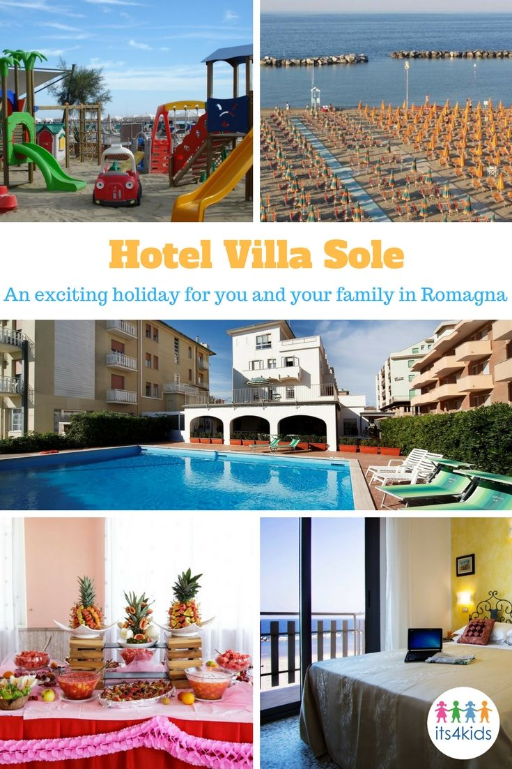 Hotel Villa Sole is a hotel with swimming pool in Bellaria