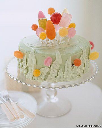 Cake decorating idea