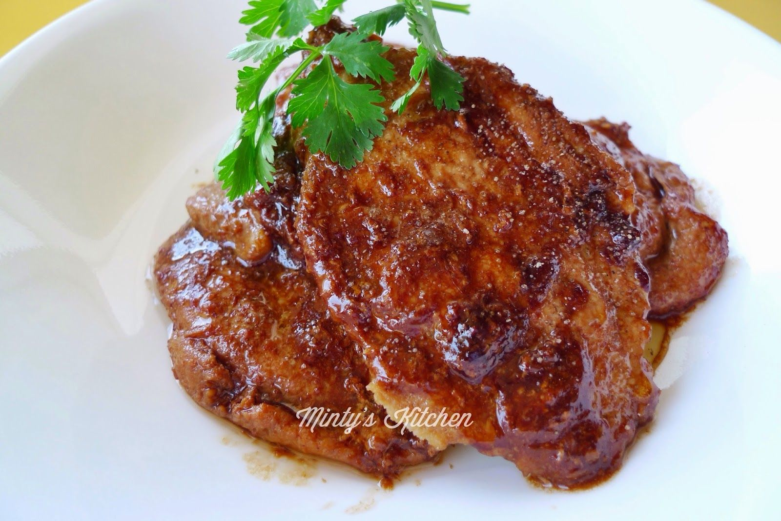 Shogayaki - Ginger Pork