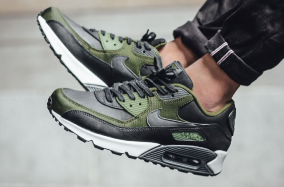 Legion Green Accents On The Latest Nike Air Max 90 Premium