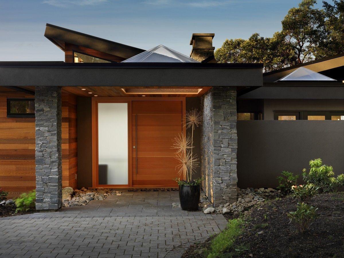 Touchstone Keith Baker Design House Porch Design Contemporary House Plans West Coast House