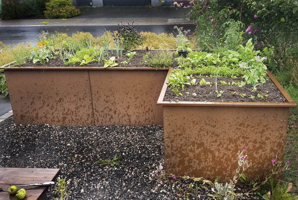 Hochbeet Bauen Im Herbst Hochbeet Hochbeet Bauen Bepflanzung