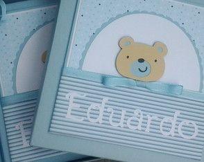 Livro Do Bebê Com Caixa ursinho Fofo
