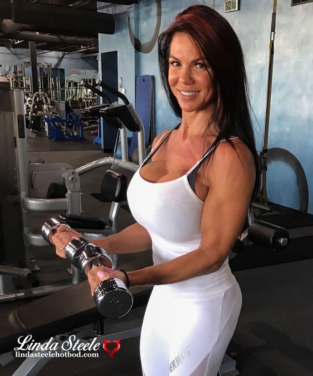 Linda Steele Pep Fitness Models Bikini Models Steele