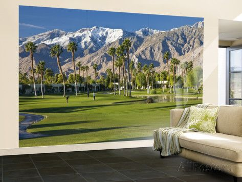 Golf Course Wall Murals Golf Courses Wall Murals Palm Springs