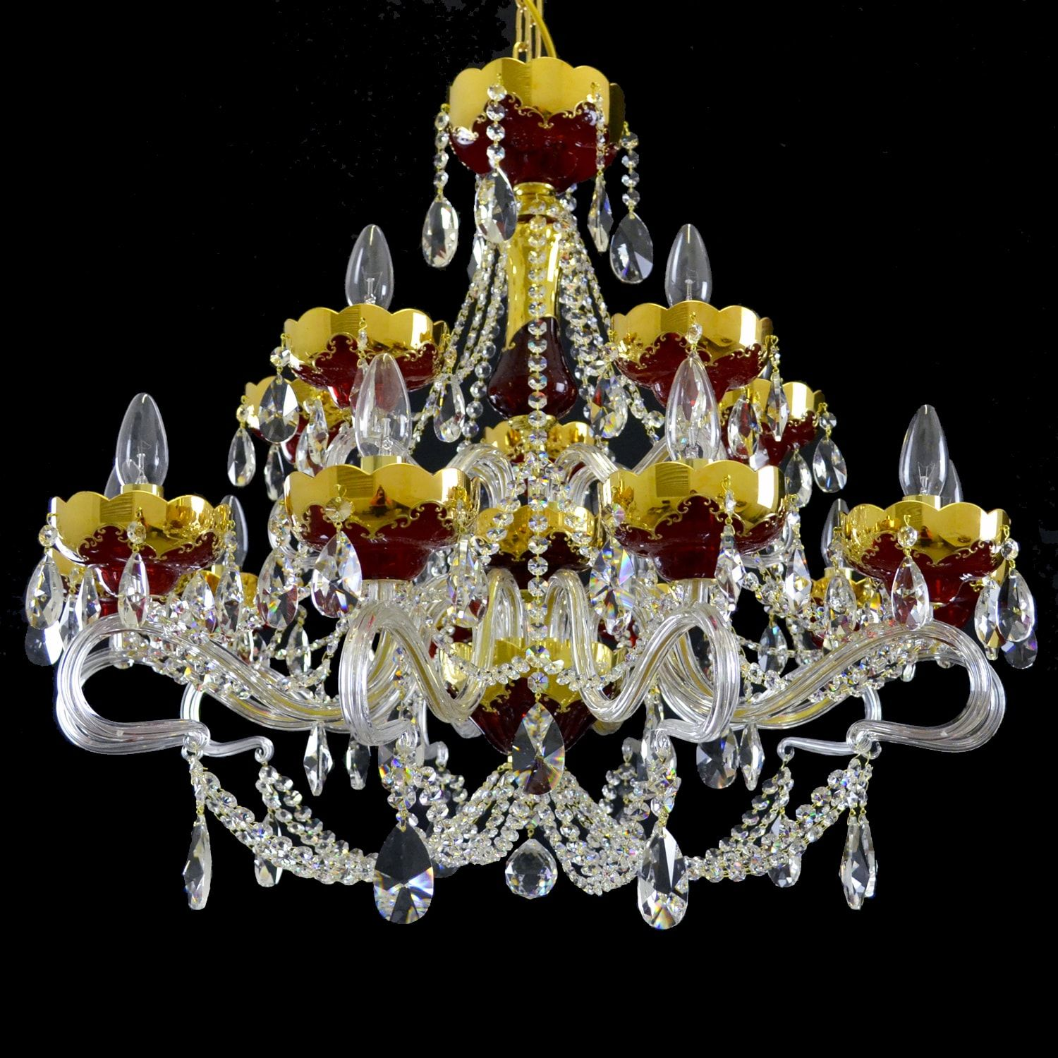 Beautiful Crystal Chandeliers And Lightings From Wranovsky