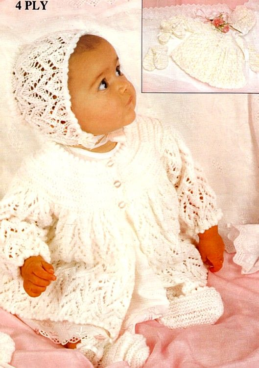 Patons Knitting Patterns for Baby | Baby knittings | Pinterest ...