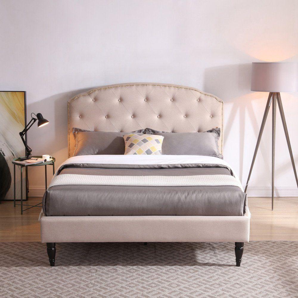 Classic Brands Cranleigh Upholstered Platform Bed