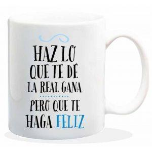 """Taza baggy  """" HAZ LO QUE TE DE LA REAL GANA """" http://www.worldmagic.es/tienda/164-baggy"""
