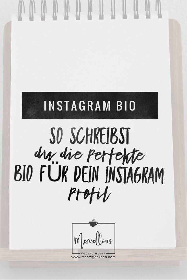 Instagram Bio: So schreibst du die perfekte Bio für dein Profil ...