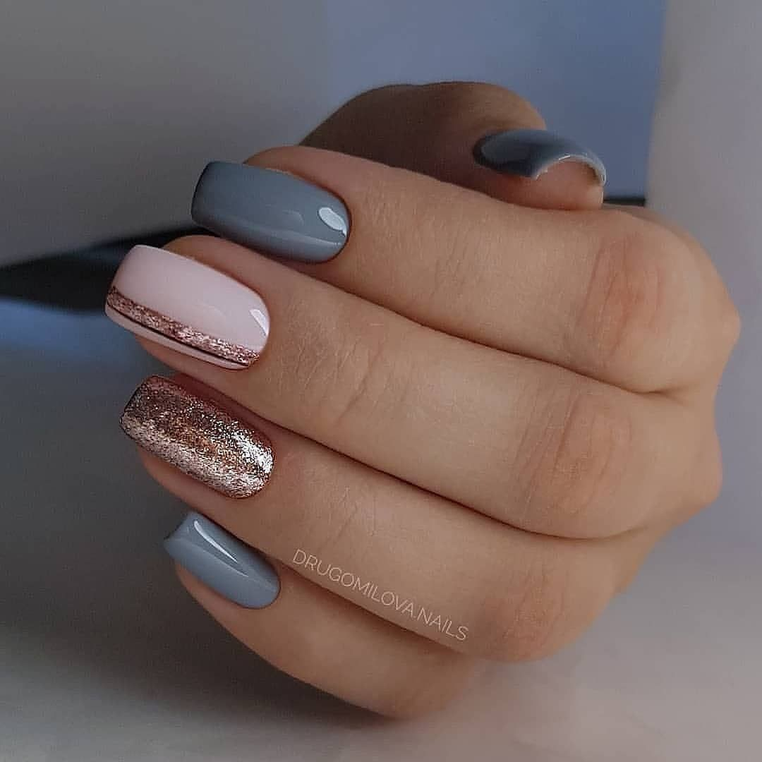 New Nail Polish Design Nails Magazine Nail Art Salon Manicure Nail Designs Cnd Nails Nail Art Equipm Nail Art For Beginners Simple Nails Simple Nail Designs