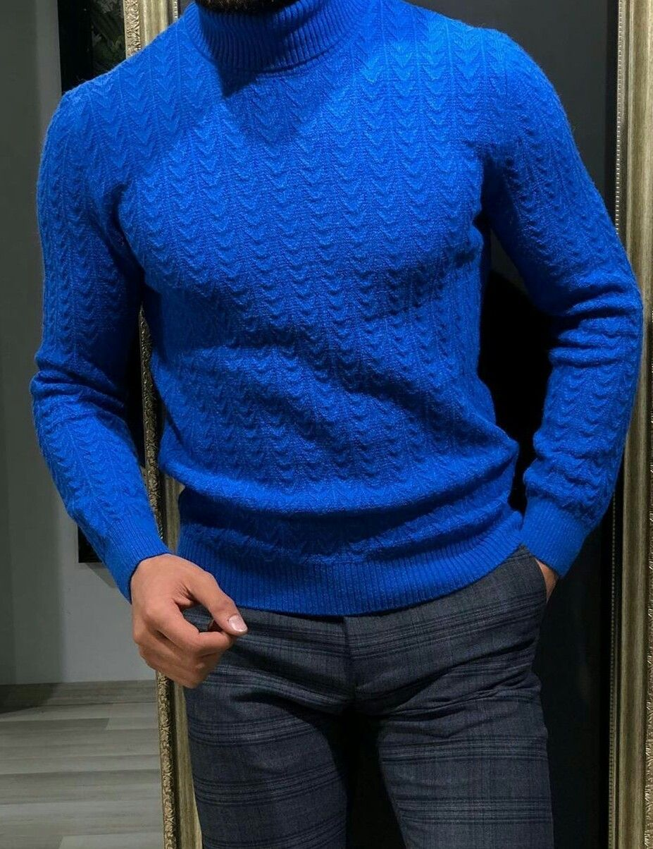 Pin by KeithCH on mens style in 2020 | Turtleneck knitwear