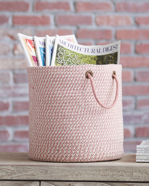 Eider Basket, Pink