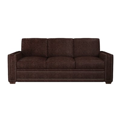 Westland and Birch Dallas Leather Sofa Bed Upholstery Color ...