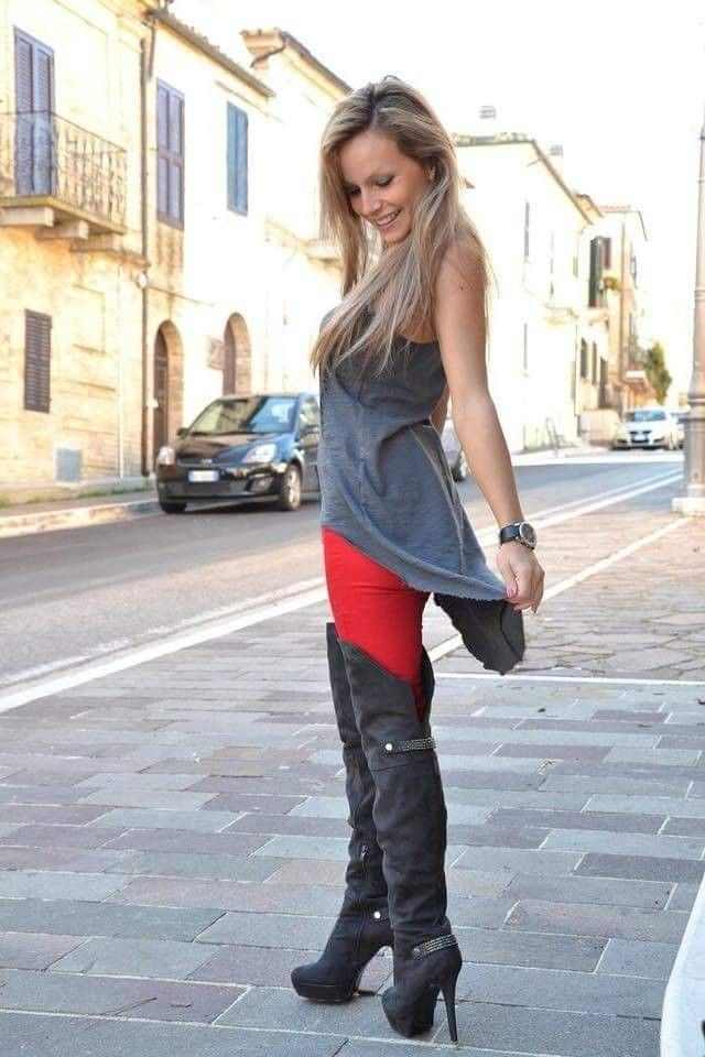 e213a40cd1a American Stud Over The Knee Boots