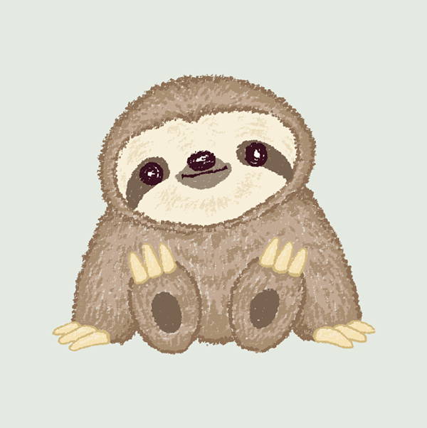 Sloth You Are In The Right Place About Sloth Baby Here We Offer Yo Dibujos De Animales Tiernos Dibujos Bonitos De Animales Imagenes Infantiles De Animales