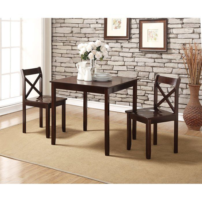 The Perfect Perch For Cocktails And Conversation In Your Living Room Or Kitchen This Lovely Counter Hei 3 Piece Dining Set Dining Room Sets 5 Piece Dining Set