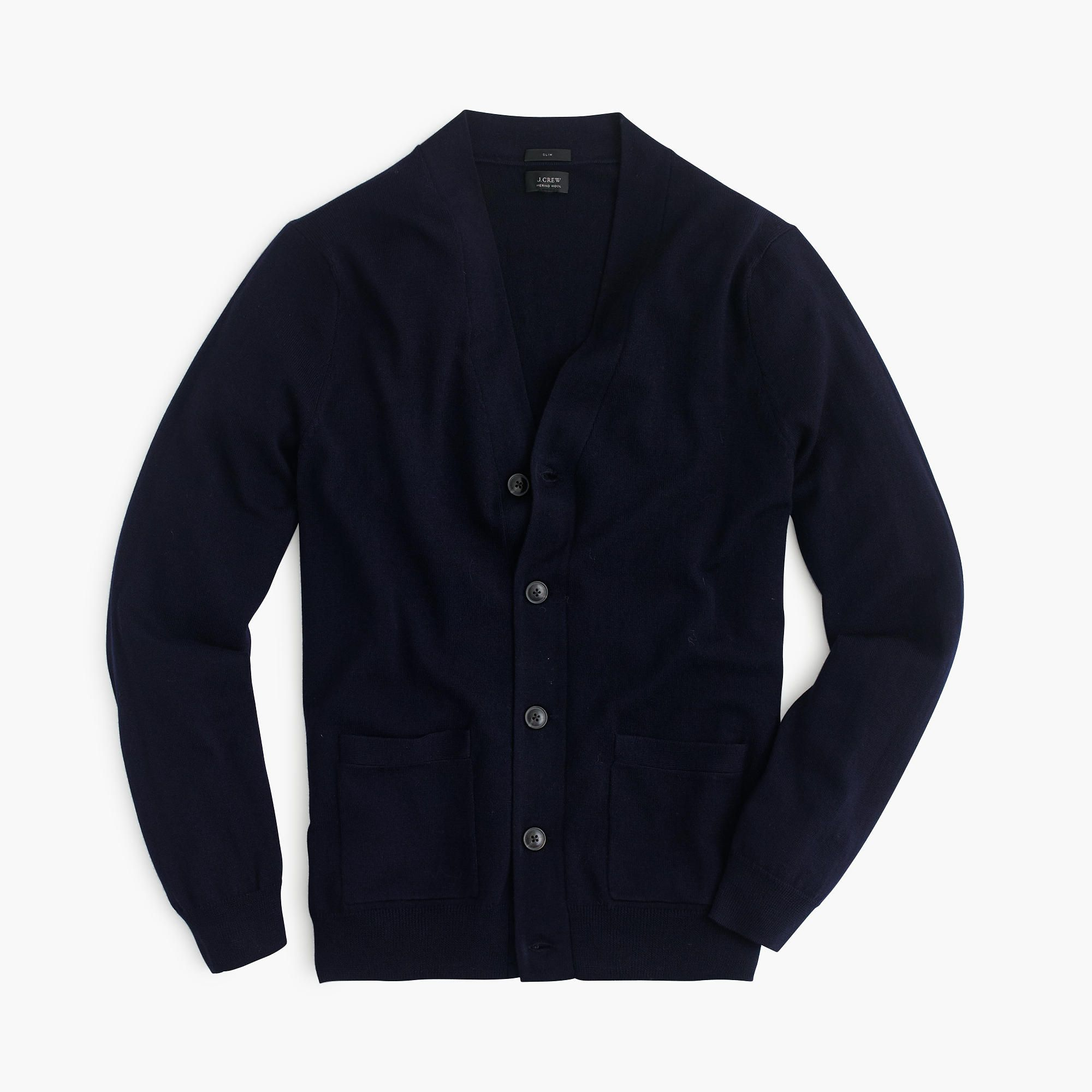 Shop the Slim Merino Wool Cardigan Sweater at JCrew.com and see ...