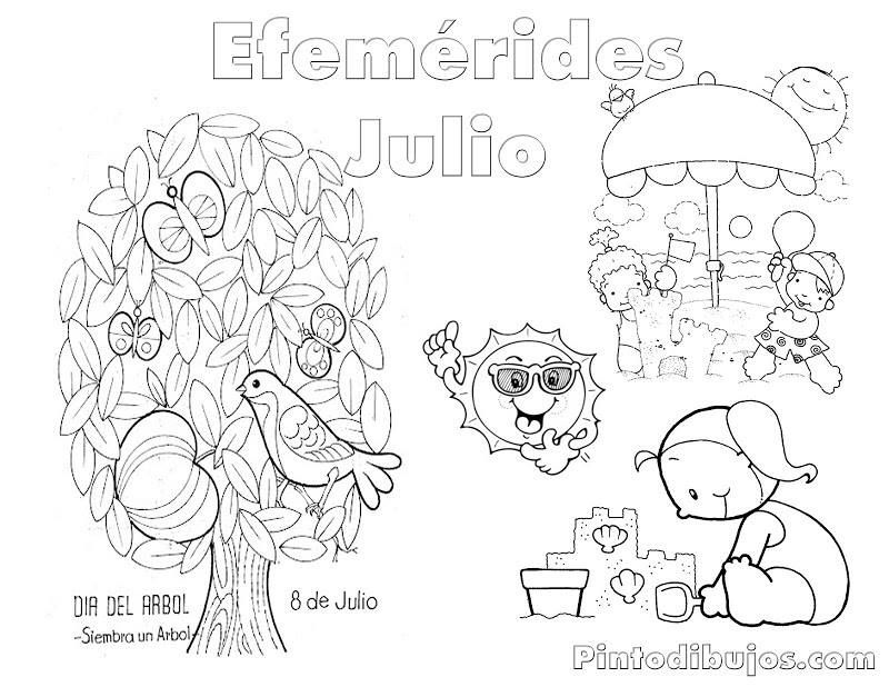 Efemérides julio | Material imprimible | Pinterest | Education