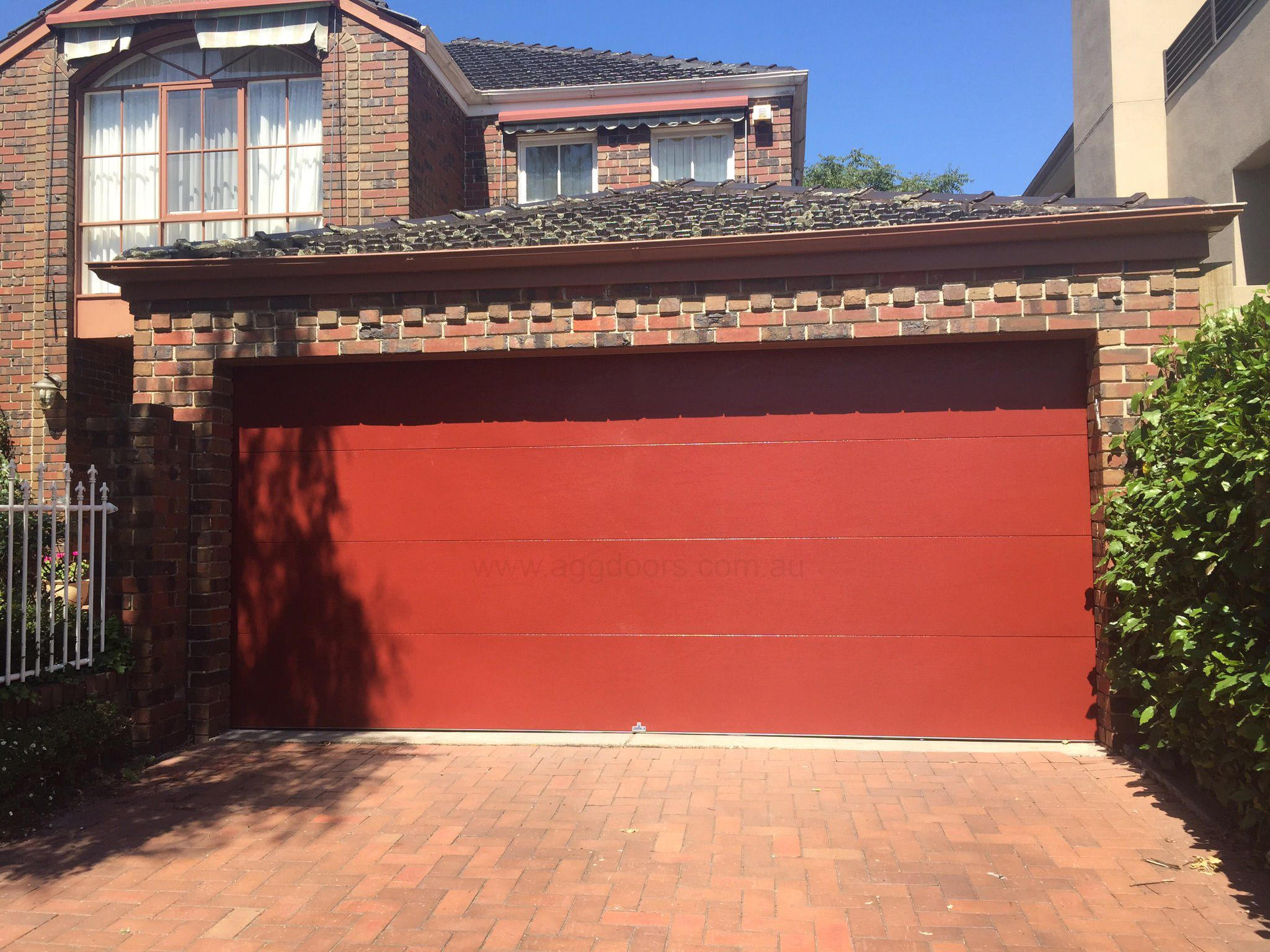 Want Your Garage Door To Match The Colour Scheme Of Your Home Look