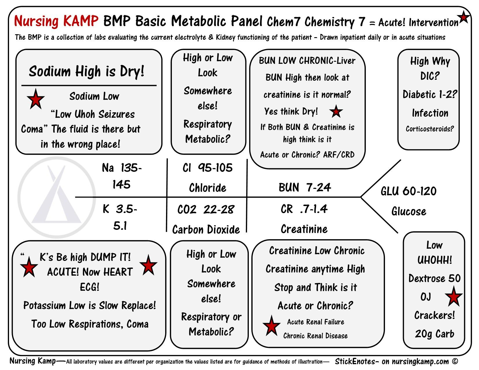 hight resolution of nursingkamp com bmp chem7 fishbone diagram explaining labs from the blood book theses are