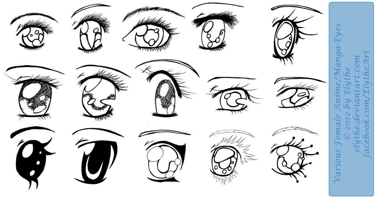 Manga Tutorial Female Eyes 02 By Mela 3 If You Re Going To Use This Tutorial Please Specify I M The Owner Of It 3 N Manga Eyes Female Anime Eyes Anime Eyes