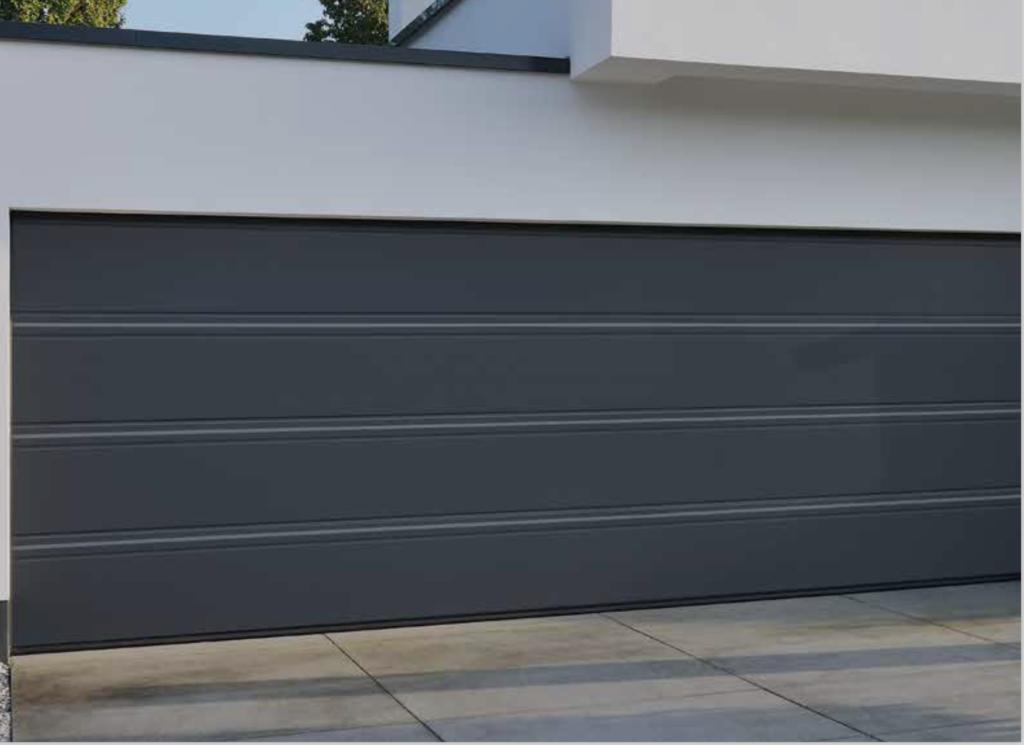 10 id es de portes de garages moderne porte de garage. Black Bedroom Furniture Sets. Home Design Ideas