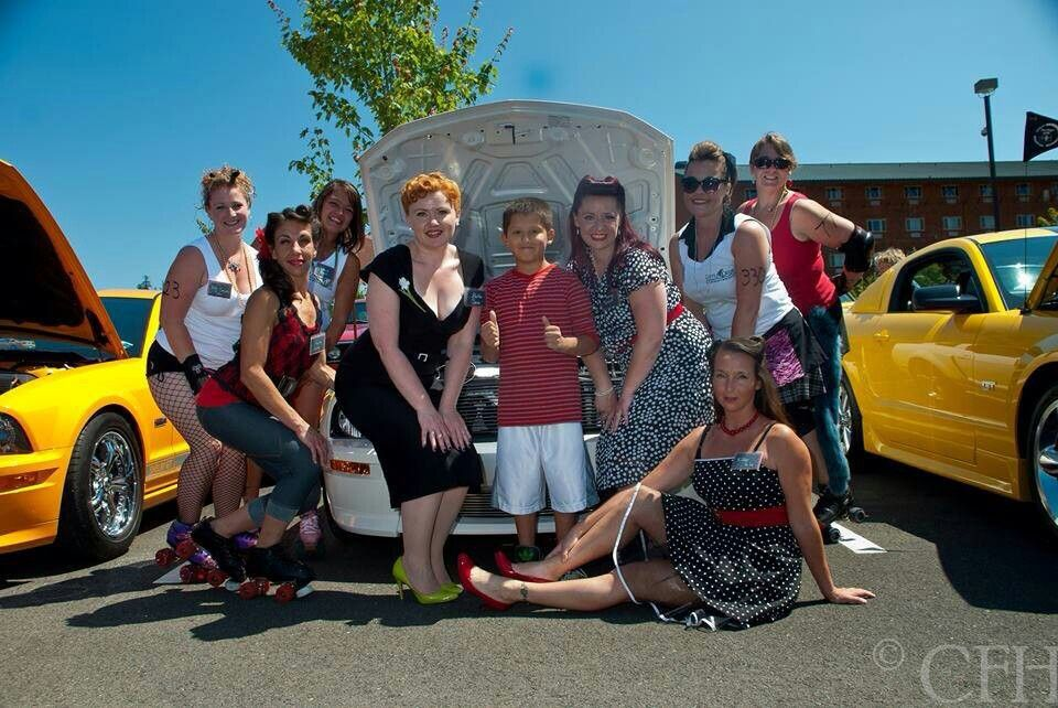 Pin-up Perfection Photography: The Miss Ladner Quilt Walk