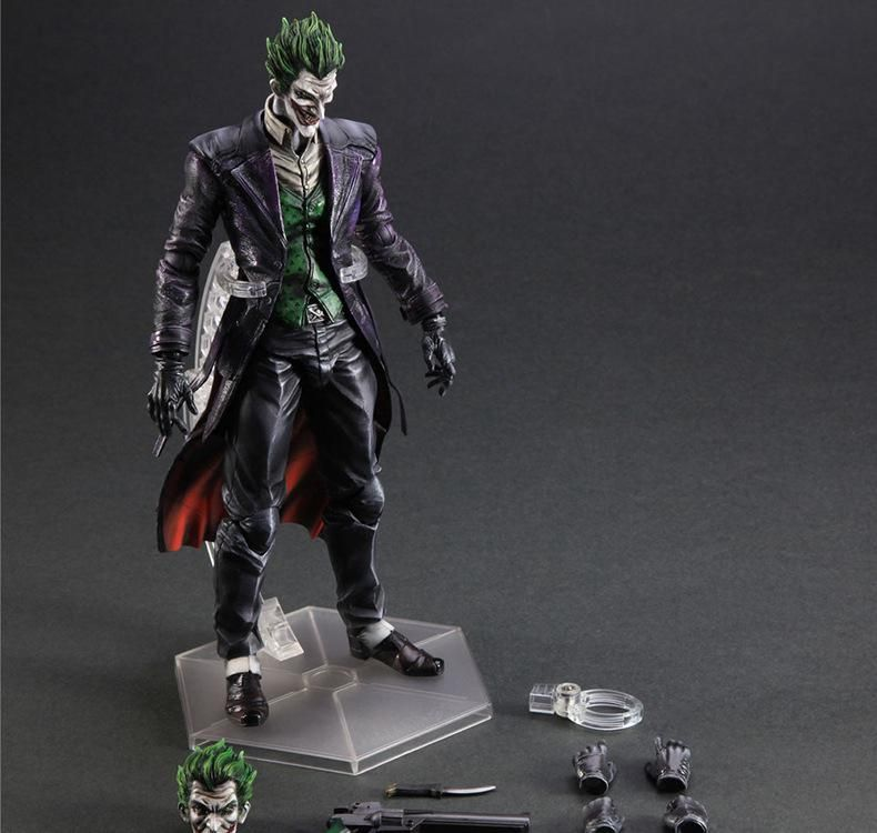 Bat Man Joker Figure Bat Man Jack Play Arts Kai Figure Napier