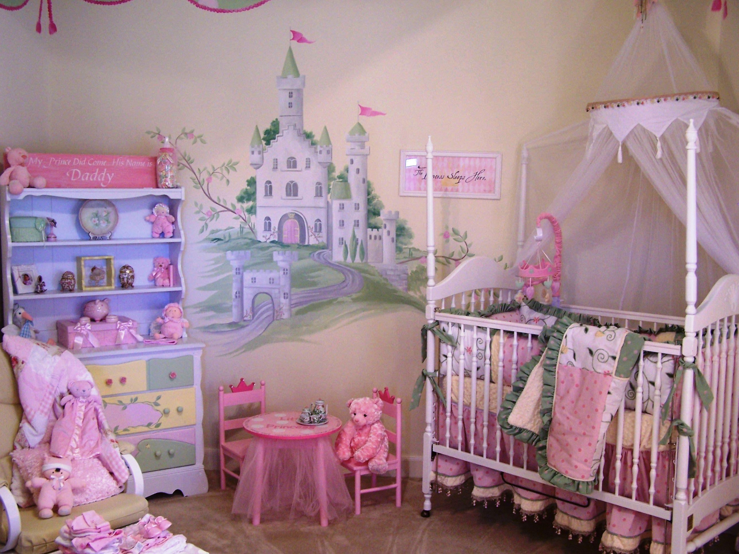 Princess Theme Nursery Princess room, Baby decor