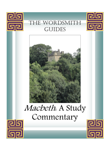 a study guide on the plot of macbeth 11 how sure is lady macbeth that this plot will questions continued on the next page) keigher as english ii macbeth directions: provide annotation and elaboration for each of the following quotations.