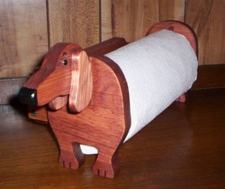 Dachshund Paper Towel Holder Alluring Handmade Wiener Dog Paper Towel Holderclean Up In Doxie Style Design Inspiration