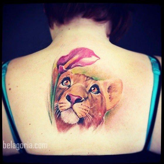 Los 75 Tatuajes De Leones Para Mujer Mas Bonitos Del Año Y Su