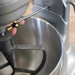 How To Adjust the Bowl Height of Your Stand Mixer #cookingandhouseholdhints
