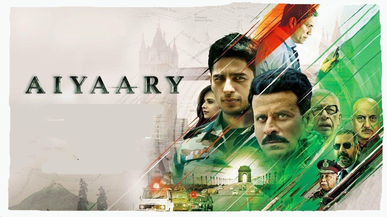 Aiyaary Official Trailer 2018 Neeraj Pandey Sidharth Malhotra Manoj