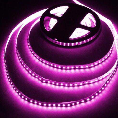 Pink Flexible LED String Lights