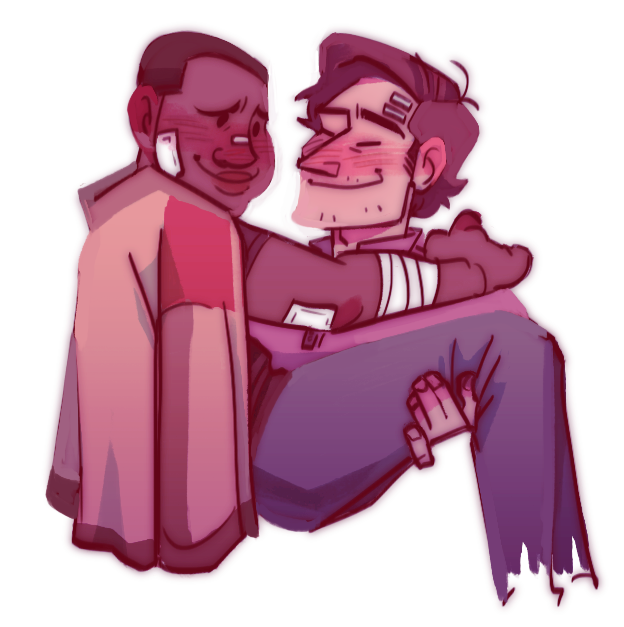 Anonymous said: Finn/poe from Star Wars? Maybe huggin... Answer: i love these babies