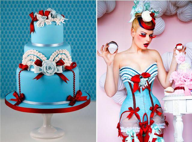 Cakes Haute Couture - El Blog de Patricia Arribálzaga: Tartas de Boda Maya Hansen