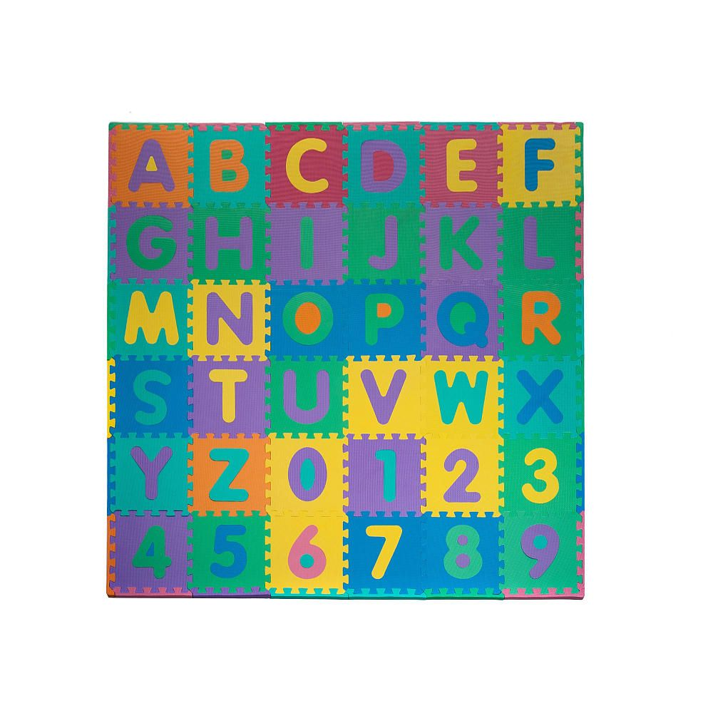 Foam Floor Alphabet and Number Puzzle Mat  Tracy Grammer