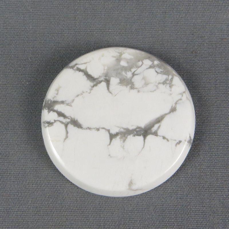 Howlite cabochon gemstones jewelry design stone