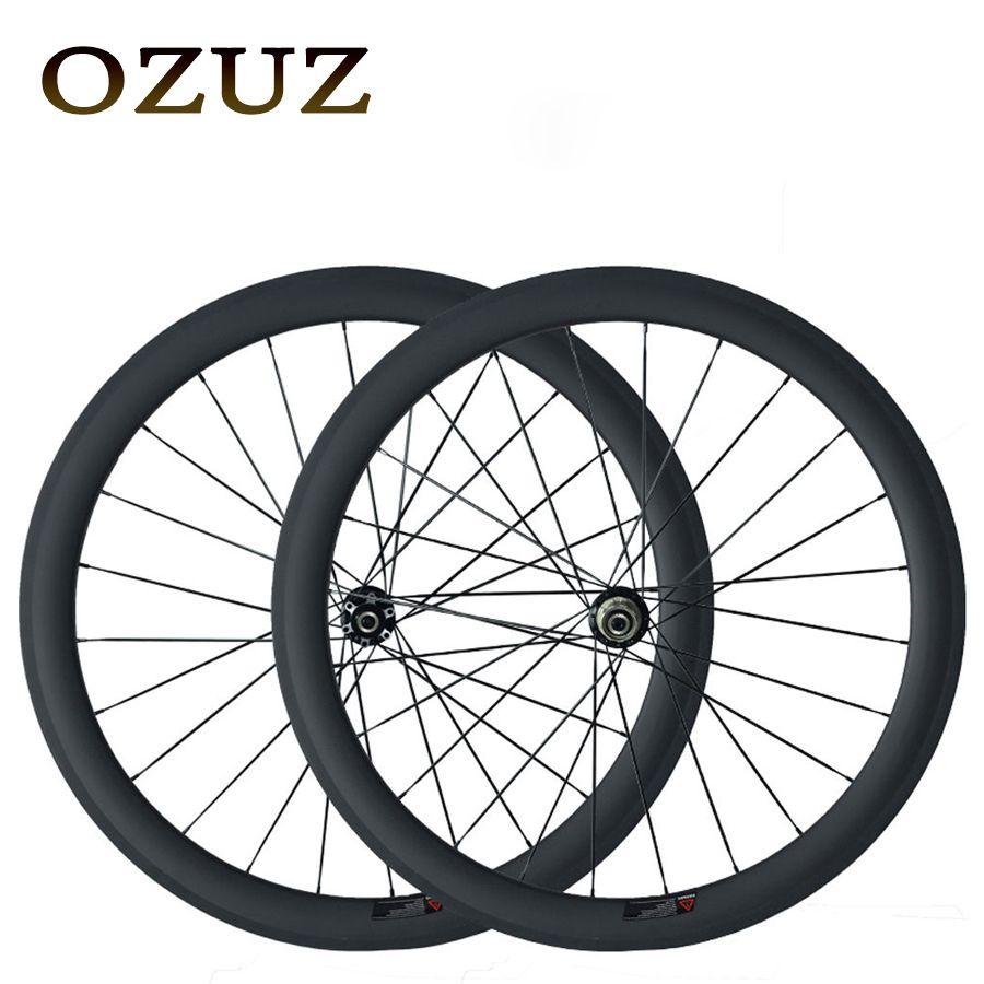 Disc Brake Hubs Ozuz 25mm Width 38mm 50mm Depth Clincher Disc