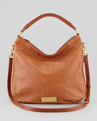 16322b08e6b Washed Up Billy Hobo Bag, Brown by MARC by Marc Jacobs at Neiman Marcus.