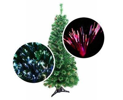 Sztuczna Choinka Swiatlowodowa Led 180cm Swiecaca 6631038106 Oficjalne Archiwum Allegro Christmas Bulbs Christmas Ornaments Holiday Decor