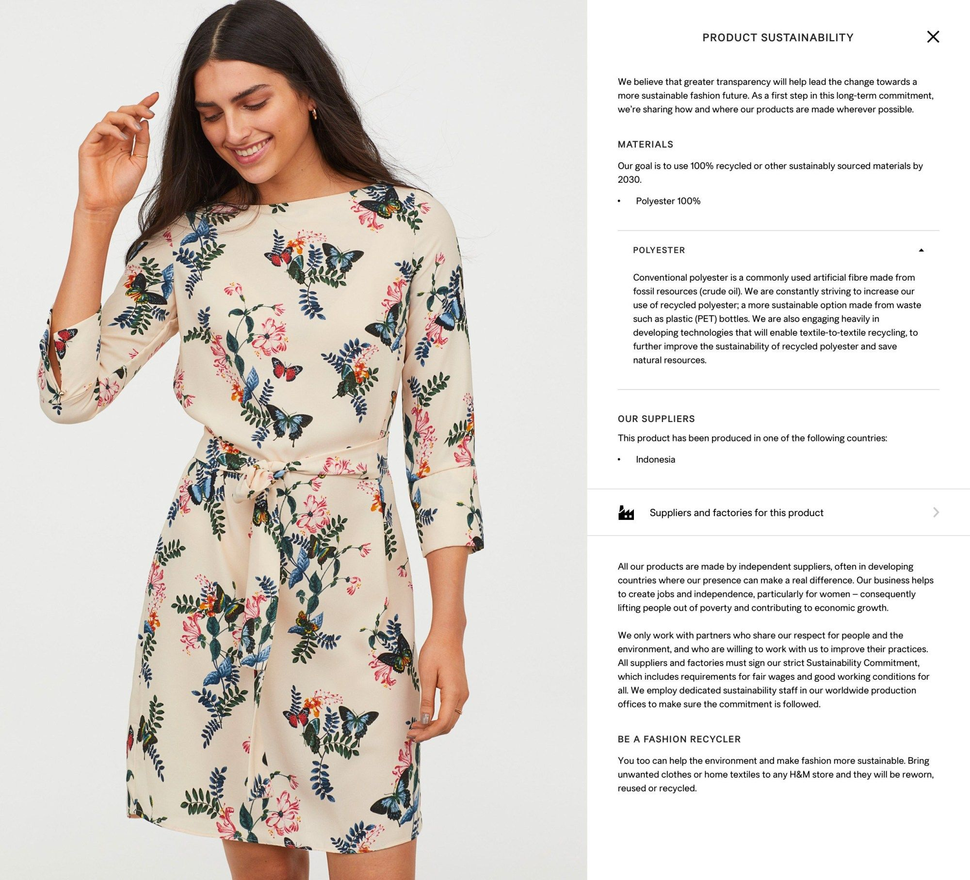 21108f6c H&M Rolls Out Its Largest Product-Transparency Effort Yet – Sourcing Journal