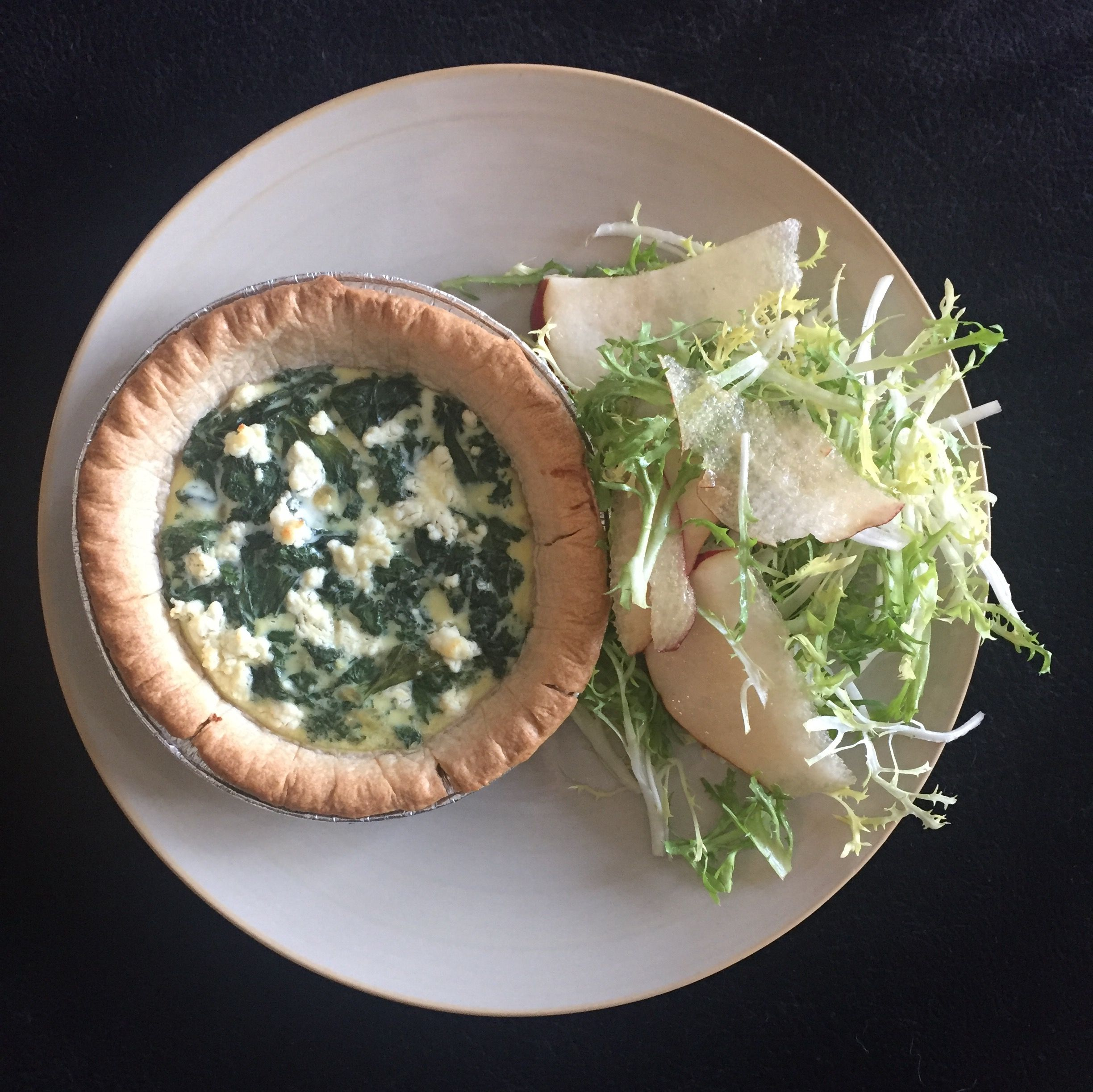 Blue apron kale salad